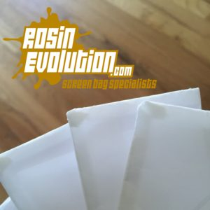 Rosin Evolution Screen Bags