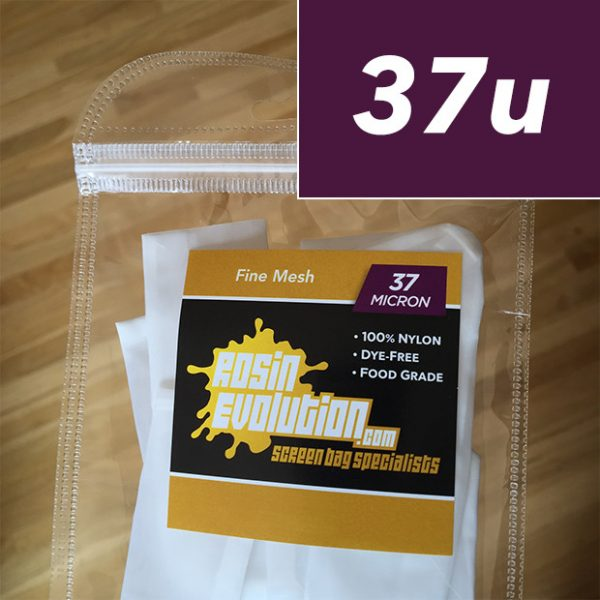 Rosin Evolution 37 micron screen bags