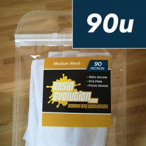 Rosin Evolution 90 micron screen bags