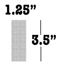 "Rosin Evolution screen bags 1.25"" x 3.5"""