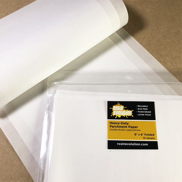 "Parchment Paper Pre-Folded 8""x8"" - Heavy Duty"