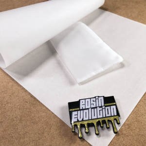Folded Parchment Paper with Bag