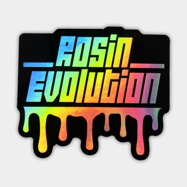 Rosin Evolution Holographic Sticker