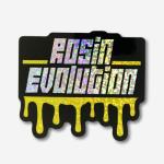 Rosin Evolution Glitter Sticker